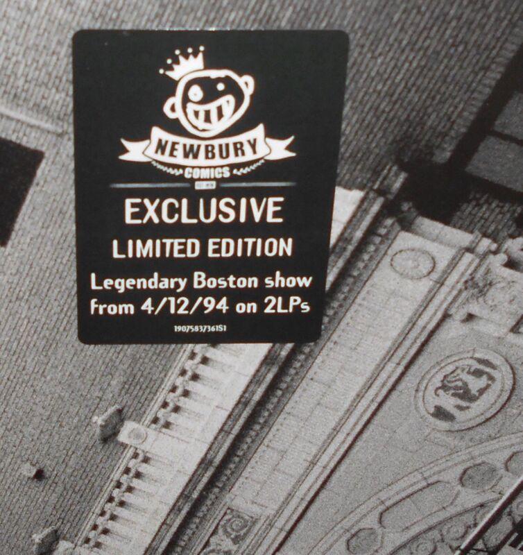 Pearl Jam Live At The Orpheum Theatre 2-LP April 12 94 Black OR Color Vinyl New