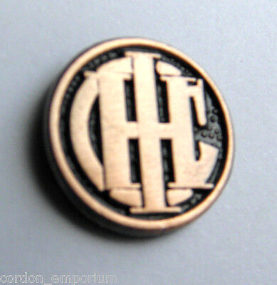 INTERNATIONAL HARVESTER COMPANY IHC FARMALL LAPEL PIN BADGE 1/2 INCH