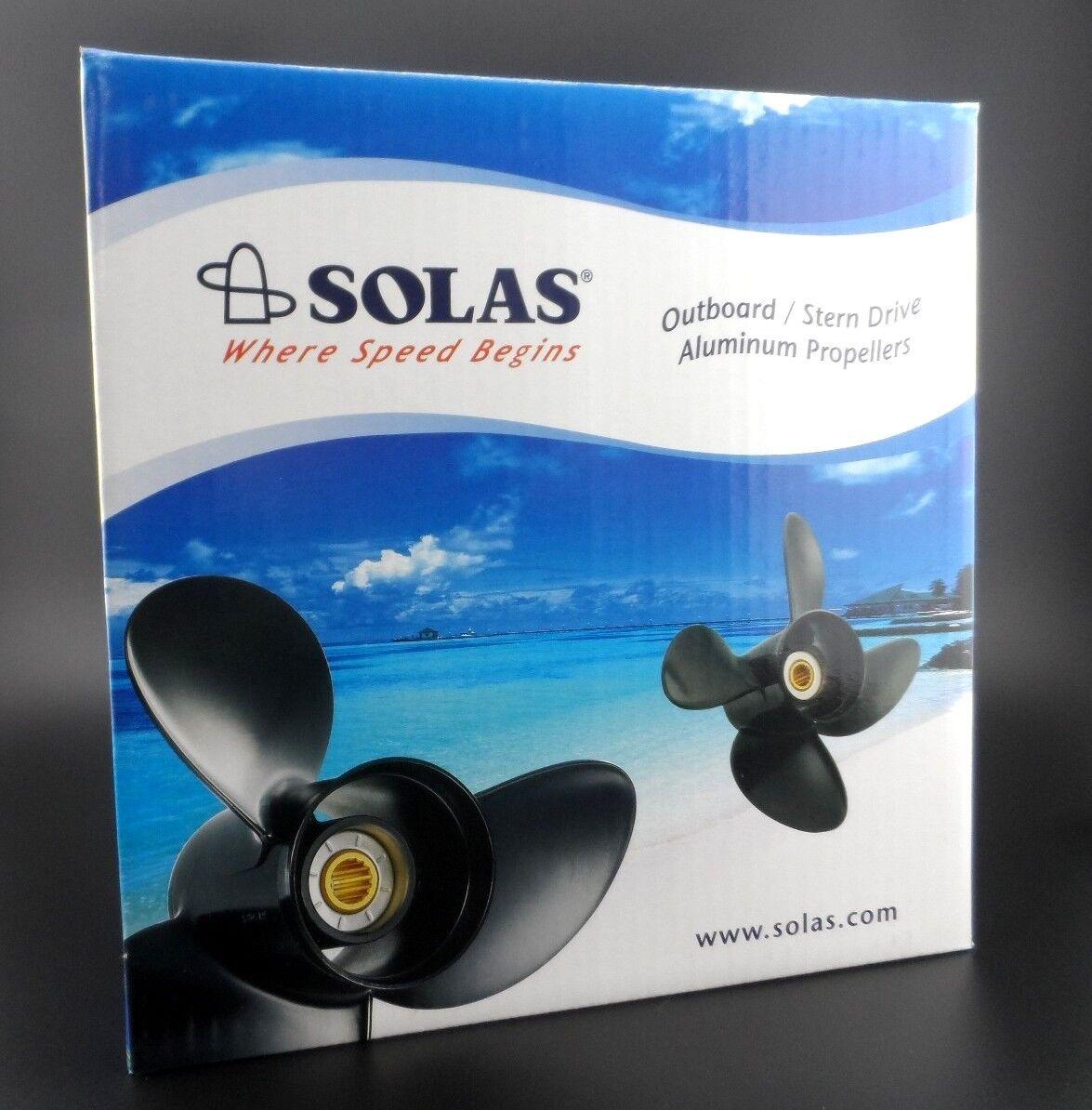 Solas Amita 3 Propeller hélice for SUZUKI Outboard 4111-093-11A 3X9 1/4X11