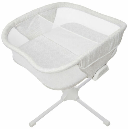 HALO Bassinest Twin Sleeper Double Bassinet Infant Baby Crib Sand Circle NEW