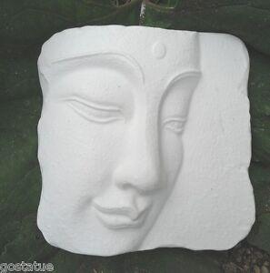 Gostatue side view buddha oriental face mold concrete buddha mold plaster mold