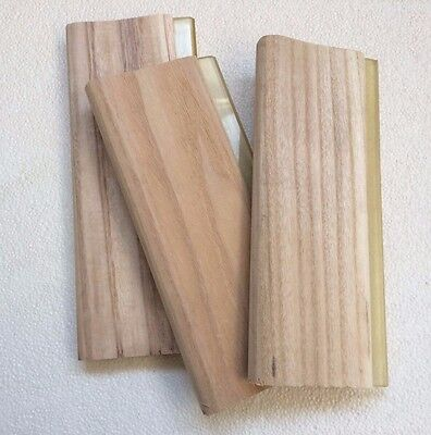 13 33cm Screen Printing Squeegees Brandnew Wood Scraper 3 Pcs