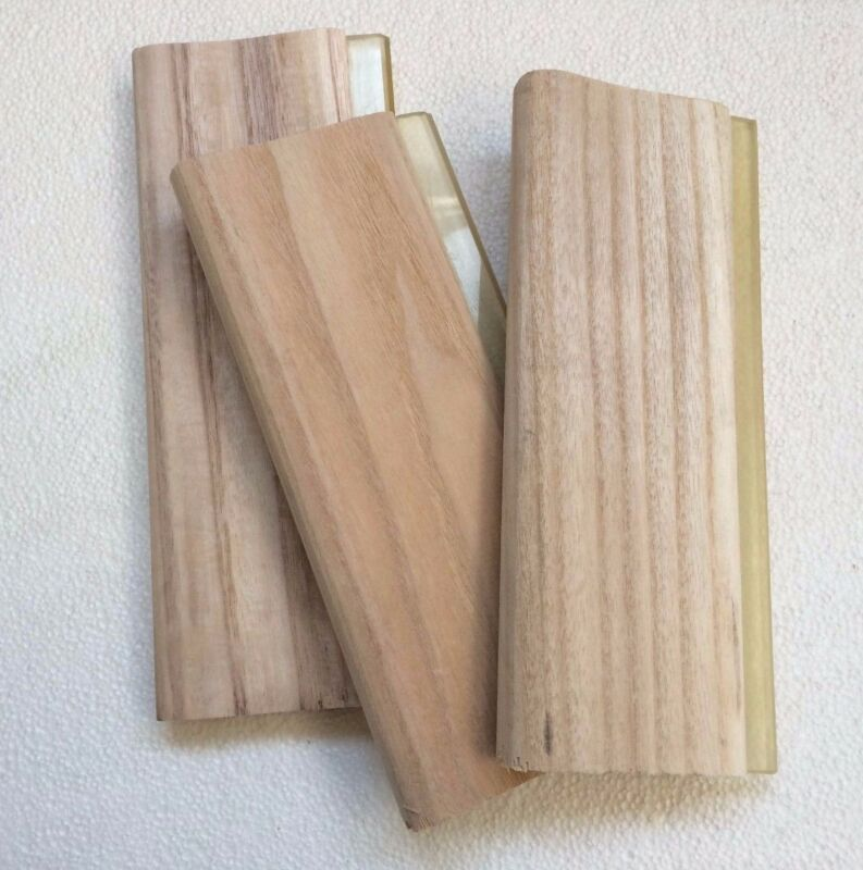 "3 pcs  13"" Screen Printing Squeegee Manual Wood Scraper 33cm Press Tool"