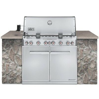 Weber Summit 7360001 S-660 Built-In Stainless-Steel LP NEW in Box Pick Up & Save
