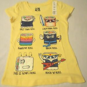 NEW Girls Tee Shirts Graphic Crew Sz XS S M L XL 4-5 6-6X 7-8 10-12 14-16 Print