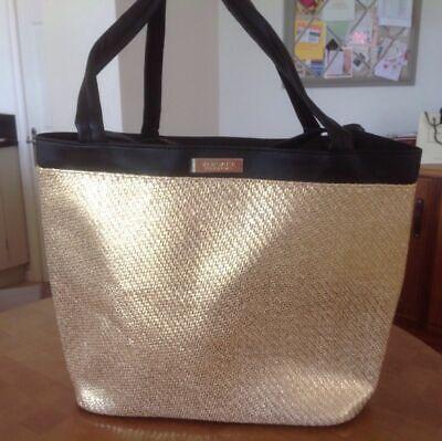 Versace Golden Tote / Shopper / Beach / Holiday Shoulder Bag Brand New Original