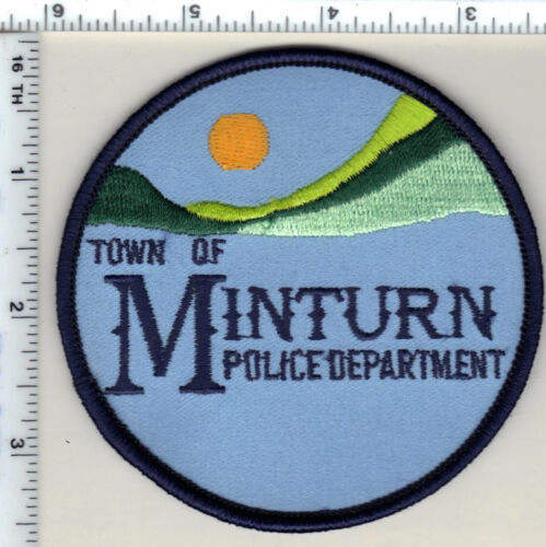 Town of Minturn Police (Colorado) Shoulder Patch - new from 1989