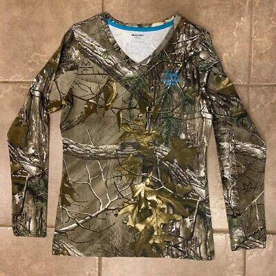 Dixie Land Outdoors Women/'s Turkey Hunting Long Sleeve t shirt,girls huntress