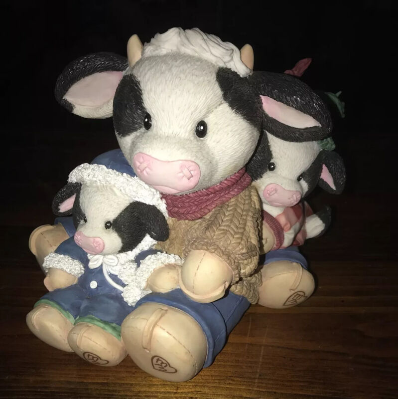 """Mary Moo Moo's """"Wheee Are Moovin""""- 1996 - #190608-12"""" Great Condition"""
