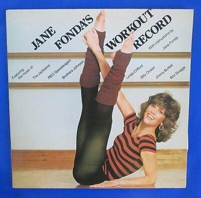 1981 Jane Fonda - Workout Record 2 LP NM/EX Columbia CX2 38054