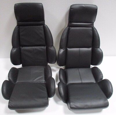 1990 corvette black vinyl seats on foam NEW! FREE SHIPPING!! 89 SUMMER SALE!! ()
