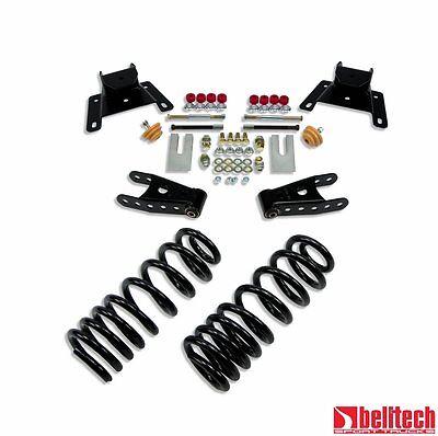 Belltech 87-96 F150 Std Cab 2/4 Drop Lowering Kit 924