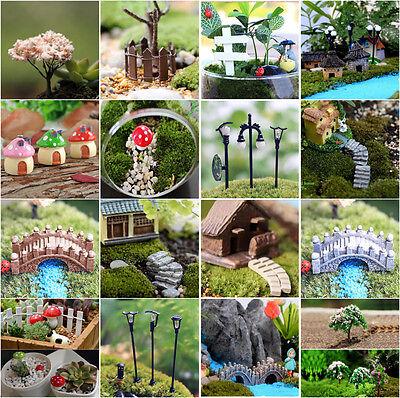 Mini Craft Figurine Plant Pot Garden Ornament Miniature Fairy Garden Decor DIY - Diy Ornament
