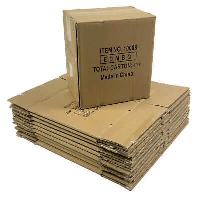 Pack Of 10 Cardboard Boxes 10x8x11.5 Corrugated Packing Shipping Moving Storage