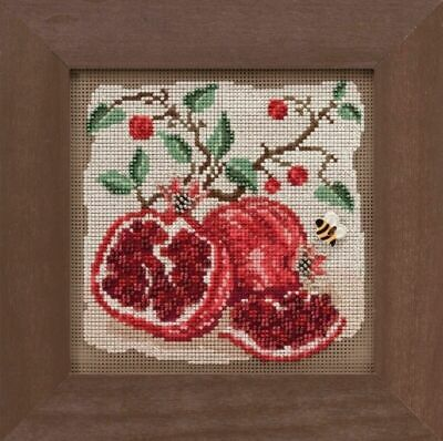 Mill Hill Buttons and Beads - Pomegranates - Cross Stitch Kit -
