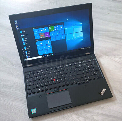 Lenovo ThinkPad P50 CAD/Gaming i7 laptop, 8GB/256SSD, Quadro M1000M -S84U