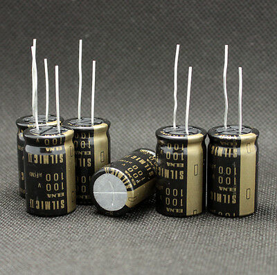 10pcs Japan Elna 100uf100v Rfs Silmic Ii High-end Series Hifi Audio Capacitor