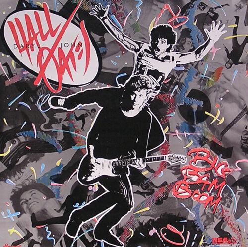 Hall & Oates 1984 Big Ba Boom Original Promo Poster