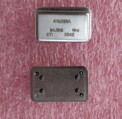 Cti Vcxo Crystal Oscillators 34.368 Mhz 3 Pcs