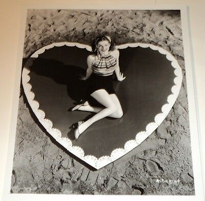 ANN SHERIDAN /  8 X10  B&W  CHEESECAKE   PHOTO