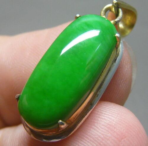 NICE 4.75 ct Genuine Jadeite Jade (Natural-Type A) Light Green-White Cabochon