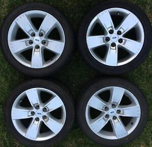 4x set Ford Falcon BF Series 2 Mk2 XR6 XR8 XR6T turbo wheels 17 Epping Whittlesea Area Preview