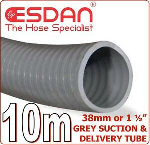 Suction Delivery Hose Grey 38mm 1 1/2