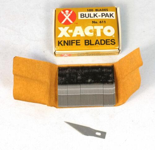 100 NOS X-Acto USA #11 Knife Blades 611