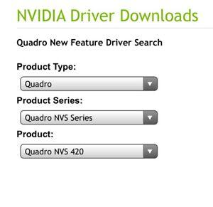 Wanted Nvidia Quadro NVS 420 card.