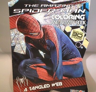 The Amazing Spider Man A Tangled Web Coloring & Activity Book                 M4](Spiderman Coloring Book)