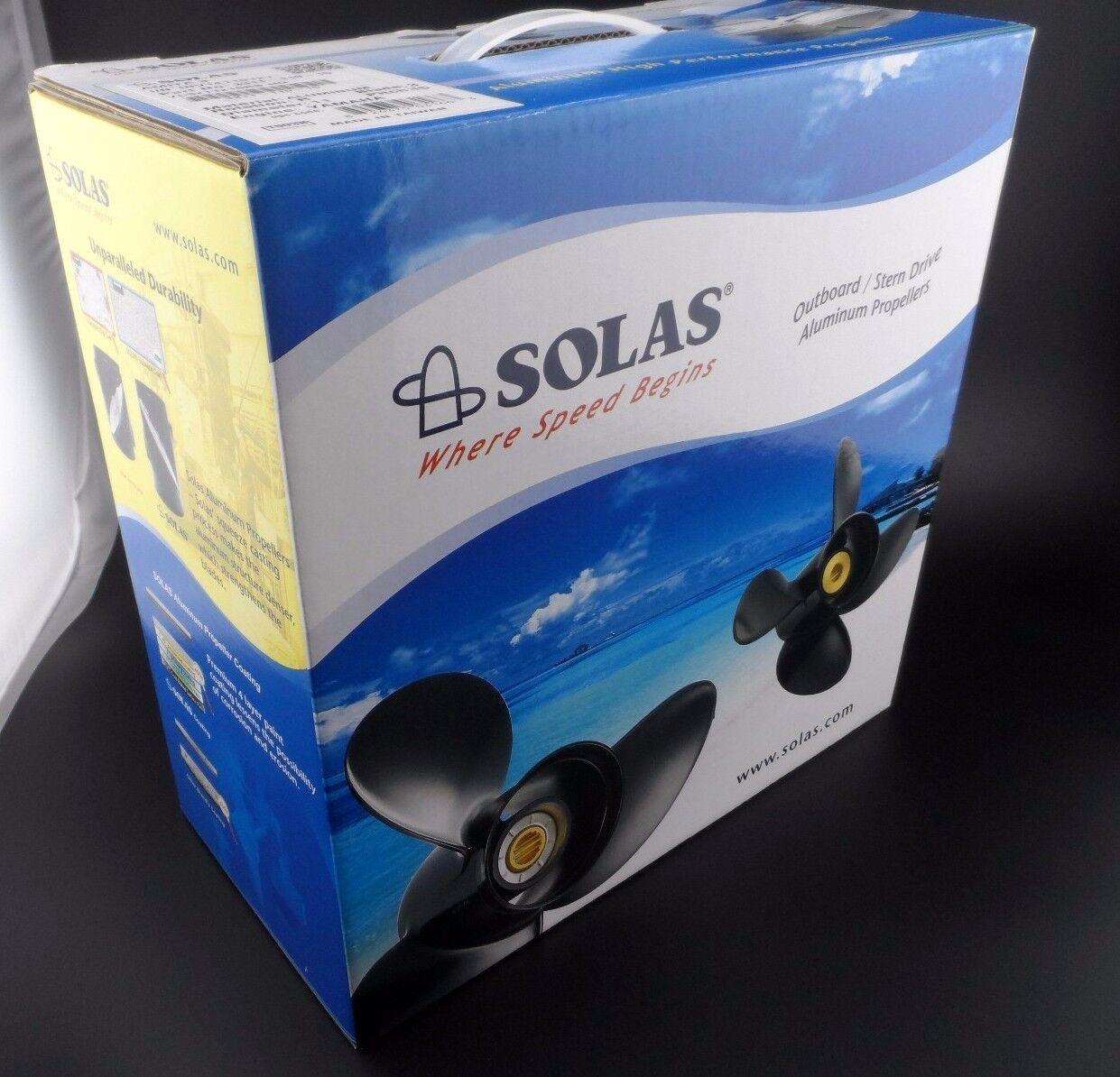 Solas Amita 3 Propeller for YAMAHA /& TOHATSU Outboard 3411-133-17 3X13 1//4X17