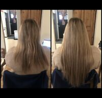 Hair Extensions Service - Tape, Micro-ring, Fusion, Weft