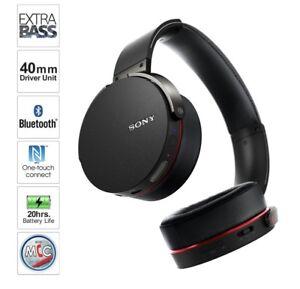 Wireless Sony Headphones Extrabass 10/10