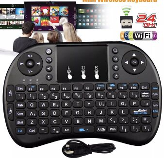 WIRELESS MINI KEYBOARD N MOUSE 4 ANDROID TV BOX PC SMART TV