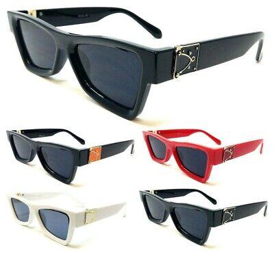 ELEGANT THICK CLASSIC CASUAL SQUARE SUNGLASSES RETRO LUXURY FANCY HIP HOP (Elegant Sunglasses)