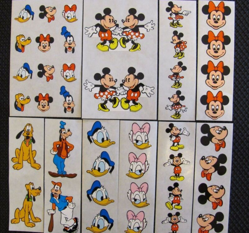 DISNEY Stickers made exclusively by MRS GROSSMAN