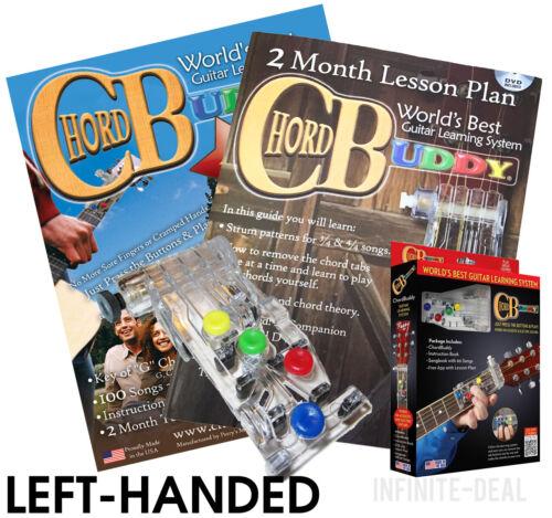 USED LEFT HANDED CHORD BUDDY Guitar Learning System Teaching AID CHORDBUDDY