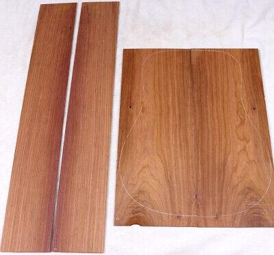 Panama rosewood Dalbergia Tucurensis acoustic guitar back and side set PR29