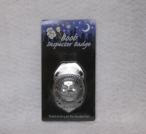 inspector badge Boob