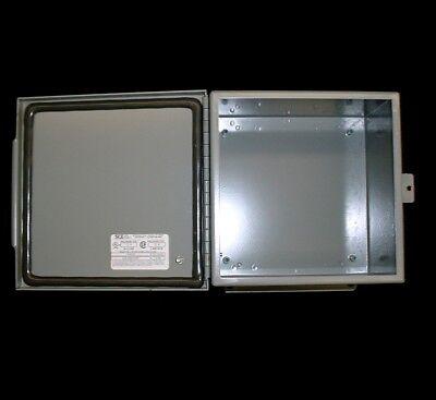 New - Saginaw Sce-8086chnf Nema 4 Industrial Electrical Enclosure Box 8x8x6