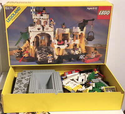 1989 LEGO Pirates 6276 Eldorado Fortress 100% Complete w/ Box & Instructions