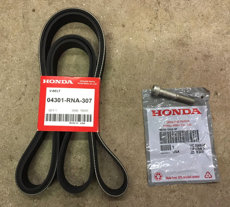 Genuine OEM Honda 2006-2011 Civic DX LX EX EX-L GX VP Drive Belt Kit Serpentine