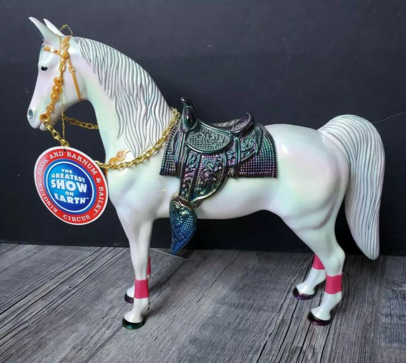RINGLING BROS BARNUM & BAILEY CIRCUS Greatest Show on Earth Iridescent Toy Horse