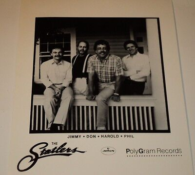 THE STATLER BROTHERS / COUNTRY MUSIC LEGENDS /  8 X 10  B&W  PHOTO