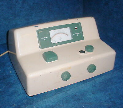 Bausch Lomb Spectronic 20 Single Beam Vis Spectrophotometer Colorimeter