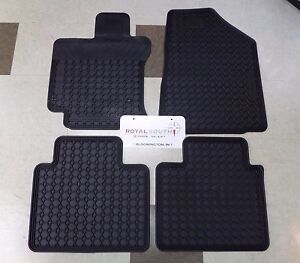 Toyota Venza 2009 - 2012 Factory All Weather Rubber Floor Mats Genuine OEM OE
