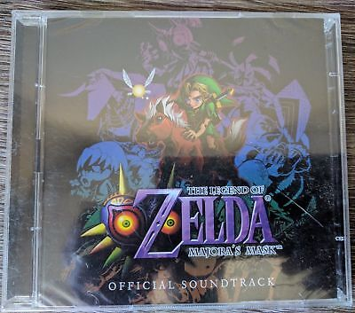 Legend of Zelda: Majora's Mask Soundtrack CD(Club Nintendo Exclusive) New  comprar usado  Enviando para Brazil