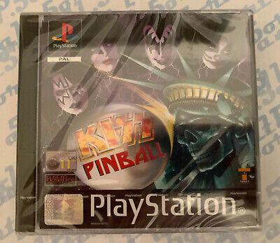 Kiss Pinball - Sony Ps1 Game - Playstation 1 - NEW / SEALED - UK PAL
