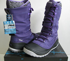 Teva-Jordanelle-2-WP-Purple-Women-Winter-Boots-US7-to-8-5