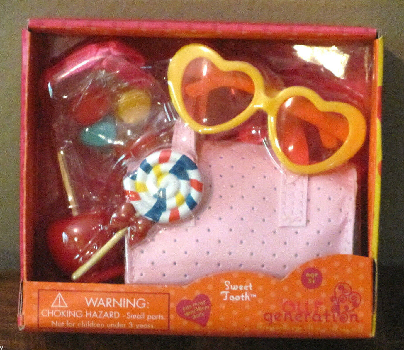 """American Our Generation 18"""" Girl Doll Sweet Tooth Candy Food"""